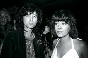 Pamela and Jimmy Page