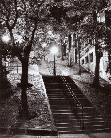 pf009-Escalier-Montmartre-c-1950-Posters