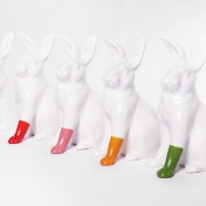 rabbits with foot gumball