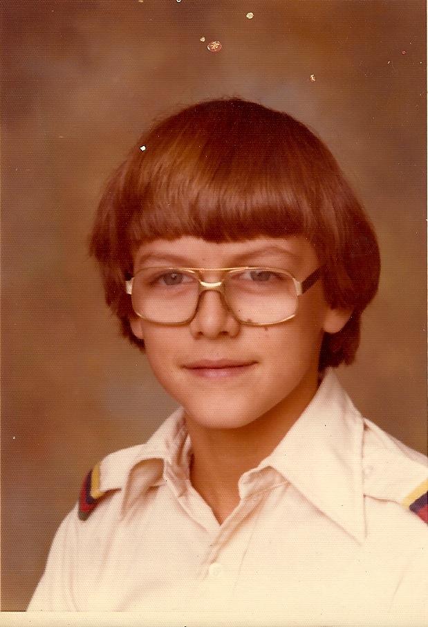 The author, 1977