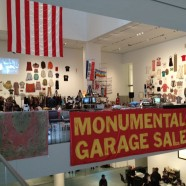 Martha Rosler in MoMA's atrium, quite possibly ground zero for value in the art world.