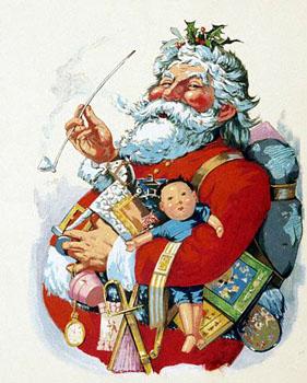 Santa Claus by Thomas Nast.