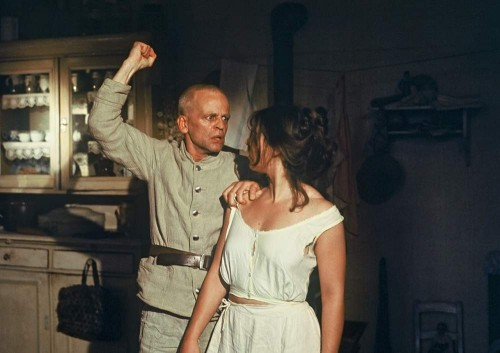 Woyzeck and his wife.