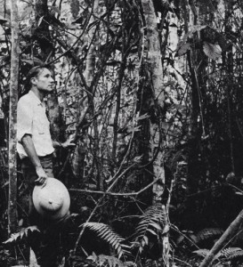William Burroughs in the jungle.