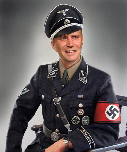 you got the look that nazi nazi look